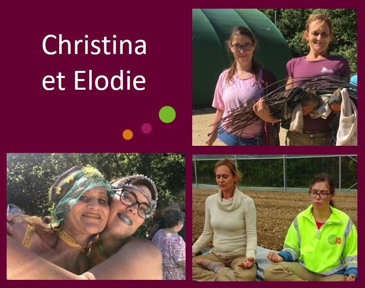Christina et Elodie
