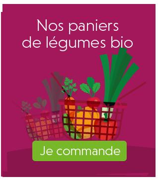 commande paniers de légumes bio